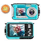Unterwasserkamera 2.7K Full HD Digitalkamera...