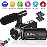 Camcorder Videokamera Full HD 1080P 24.0MP...