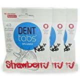 Zahnputztabletten Denttabs KIDS Strawberry...