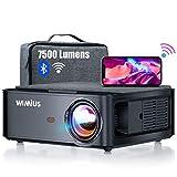 Beamer, WiMiUS 7500 L Full HD 1080P WiFi Bluetooth...