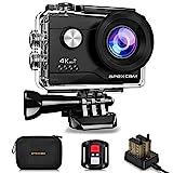 Apexcam 4K Action cam 20MP WiFi Sports Kamera...