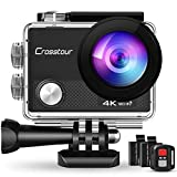 Crosstour CT9000 Action Cam Unterwasserkamera (4K...
