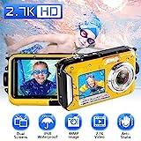 Unterwasserkamera Unterwasser Kamera 2.7K Full HD...