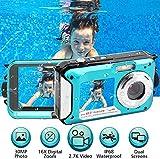 Unterwasserkamera 2.7K Full HD 48.0 MP Kamera...