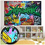 GREAT ART XXL Poster Kinderzimmer  Graffiti  Wand...