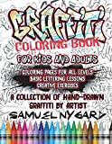 Graffiti Coloring Book For Kids and Adults:...