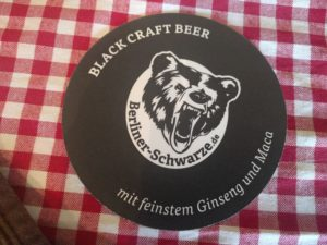 Black Craft Beer aus Berliner Brauerei