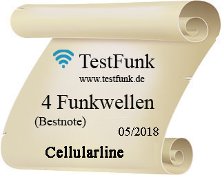 Cellularline Testsiegel